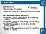 ez compliance10