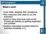 ez compliance14