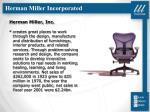 herman miller incorporated