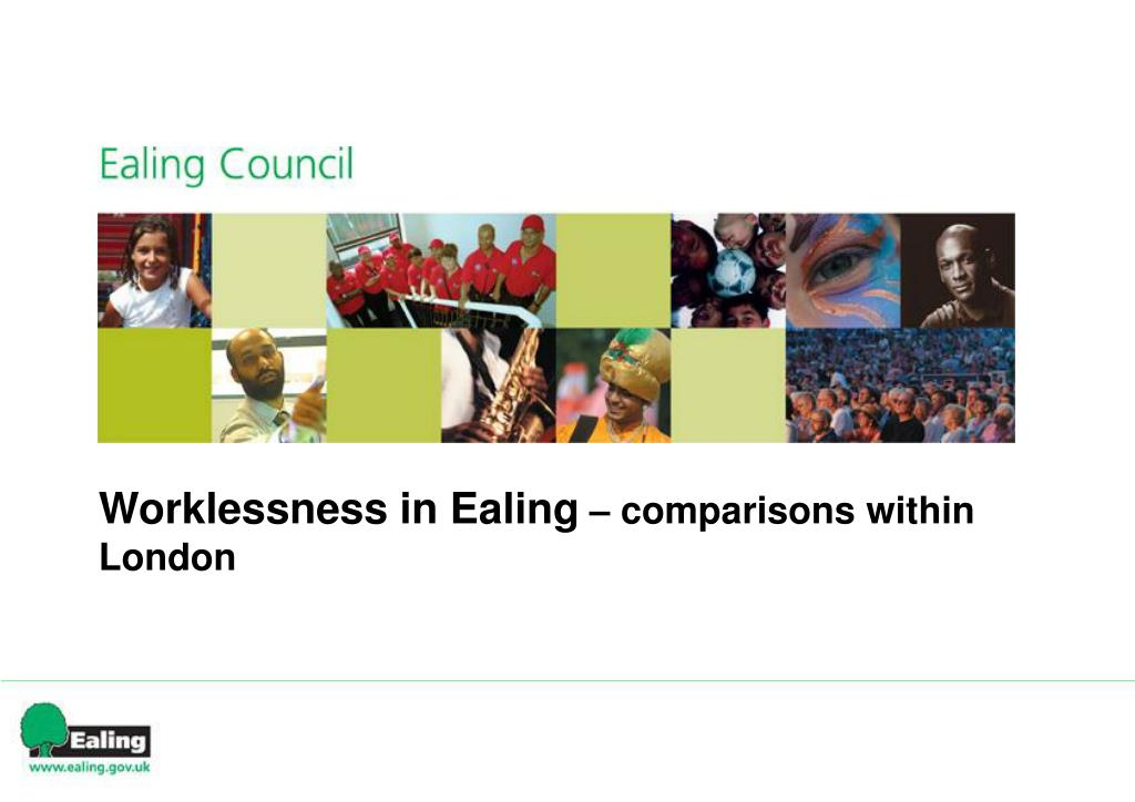 Worklessness in Ealing