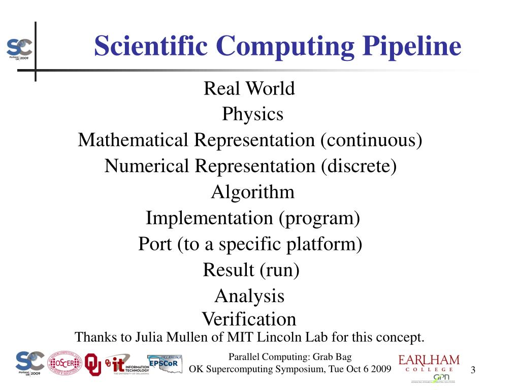 Scientific Computing Pipeline