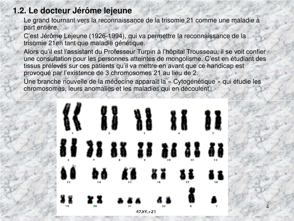 1.2. Le docteur Jérôme lejeune