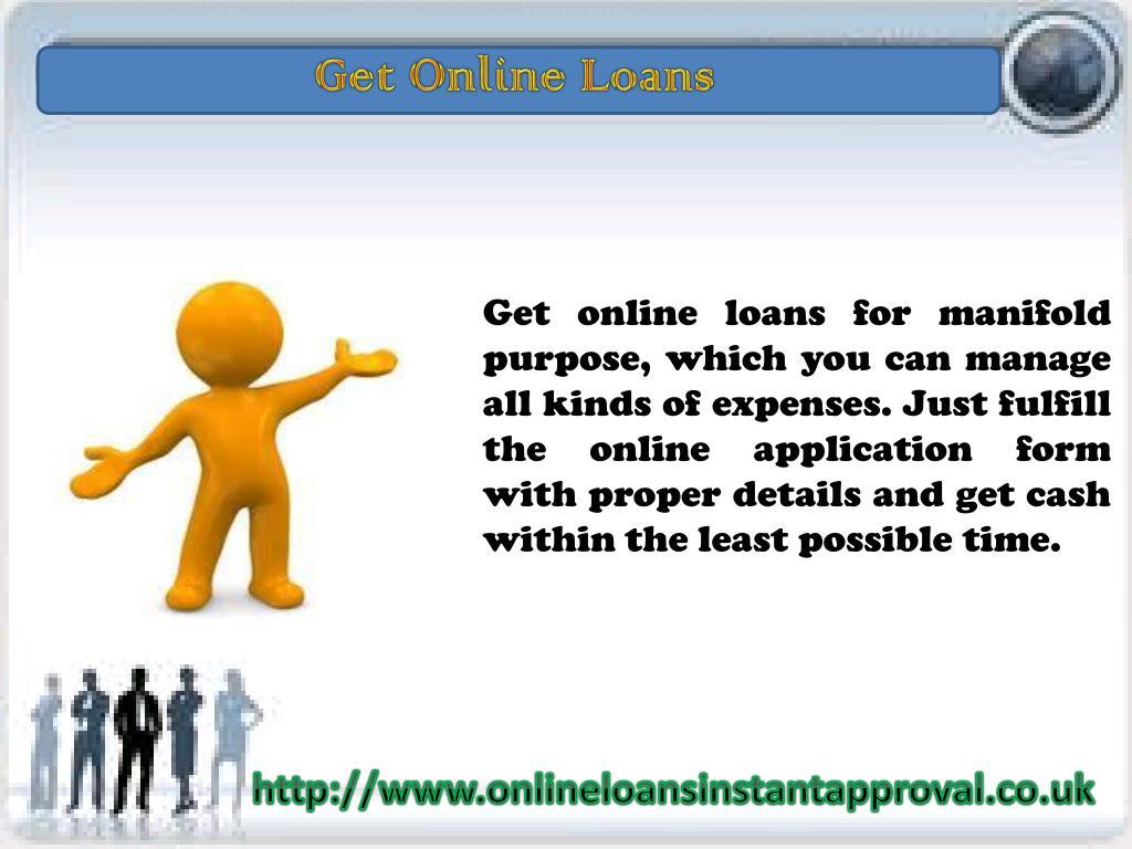 Get Online Loans