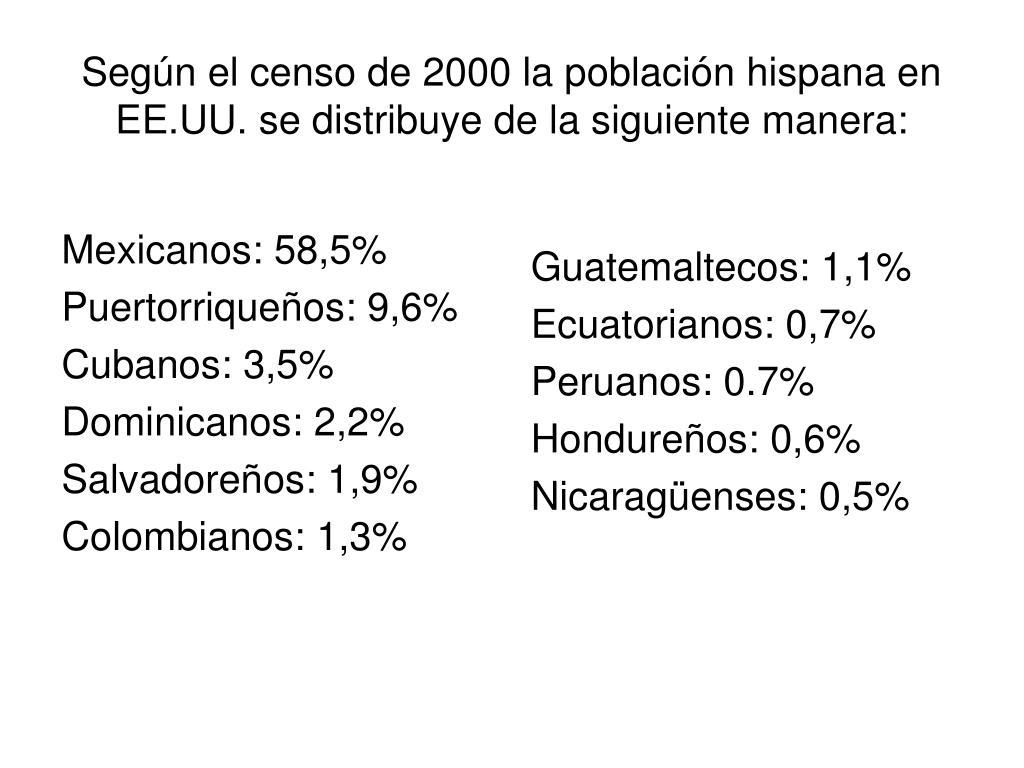 Mexicanos: 58,5%