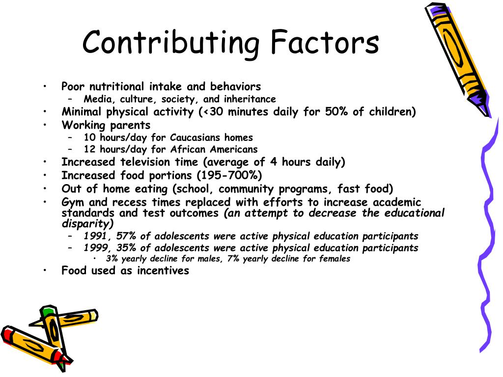 factors contributing to childhood obesity and Childhood obesity a set of tools for member states to determine and identify priority areas for action  funding limitations, costs and cultural factors the.