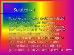 solutions i