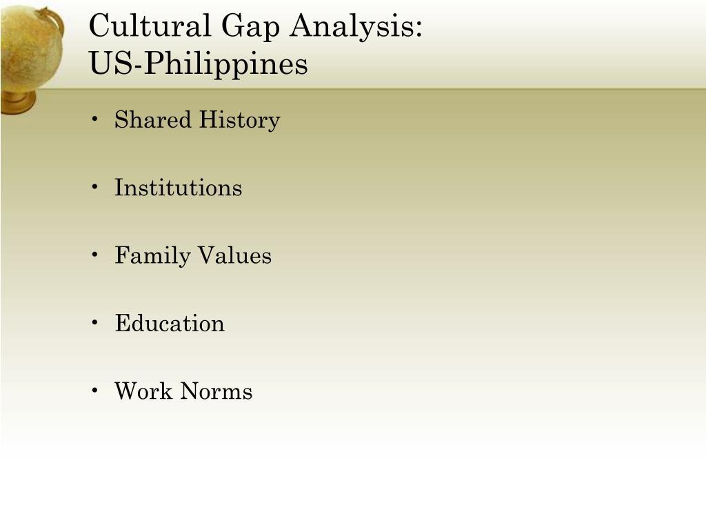 Cultural Gap Analysis: