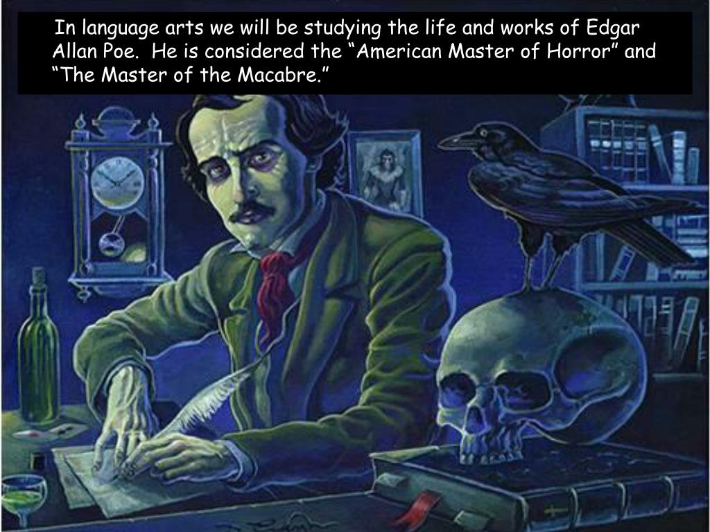 edgar allan poe life and works Poe's life life milestones current events contemporary events 1809: 1809 edgar poe born in boston to actors david and eliza poe, 19 january.