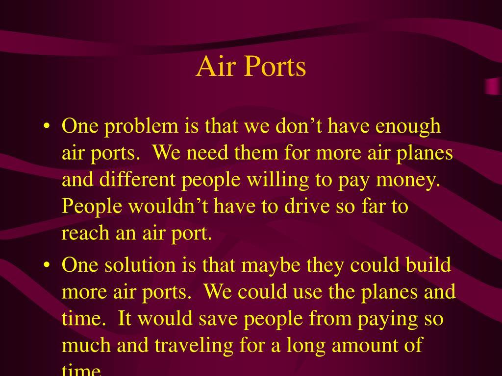 Air Ports