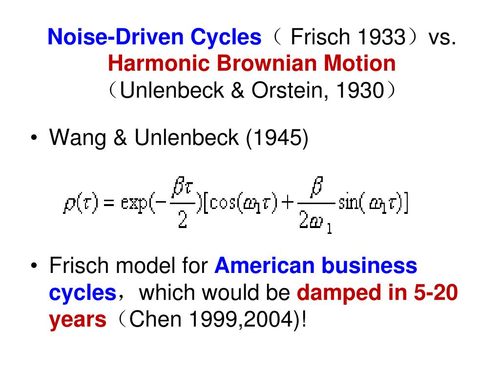 Noise-Driven Cycles