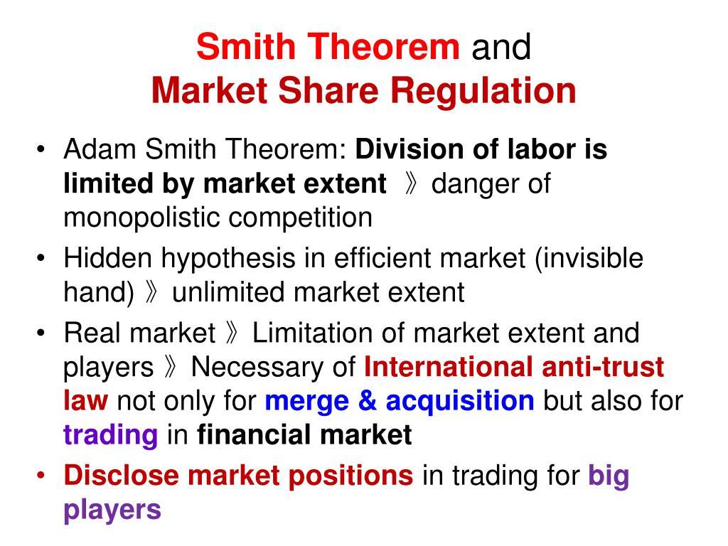 Smith Theorem