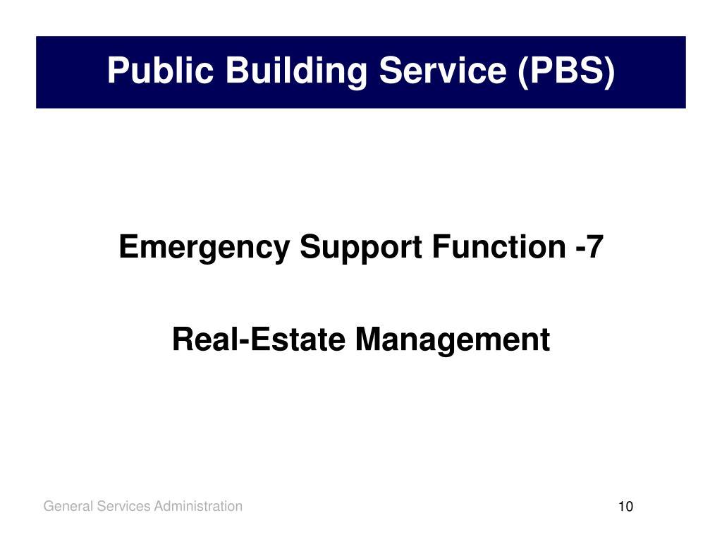 Public Building Service (PBS)