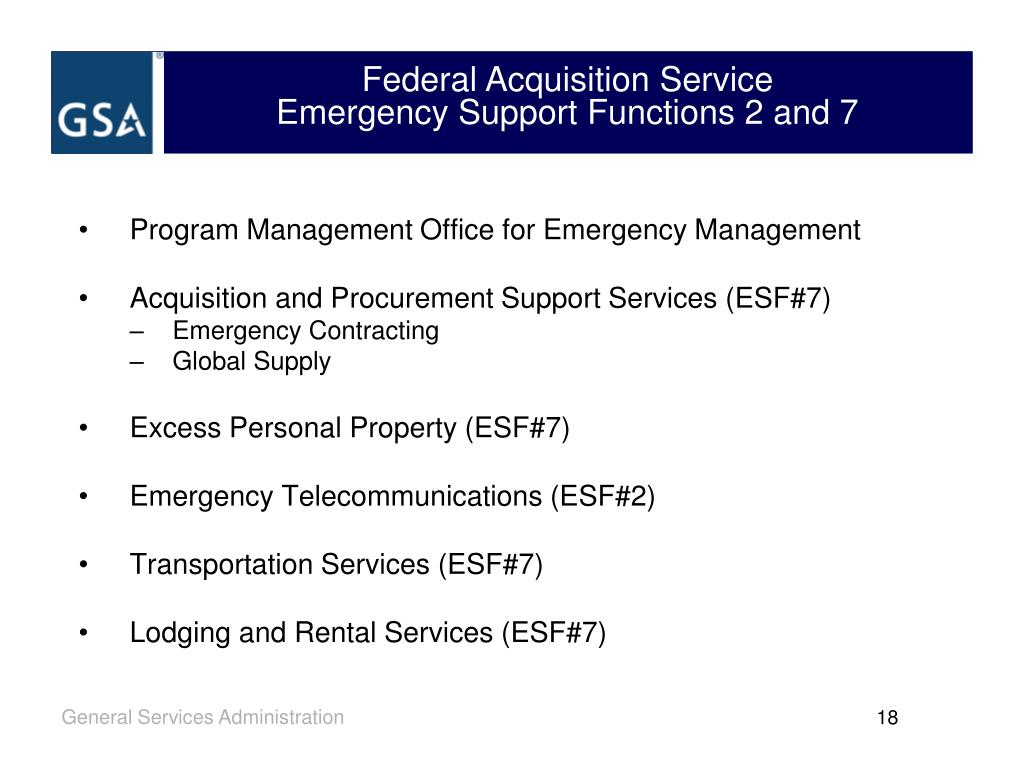 Federal Acquisition Service
