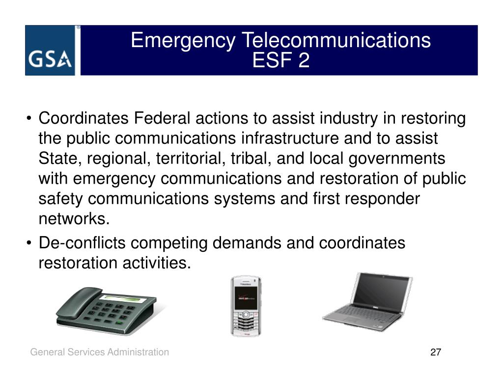 Emergency Telecommunications