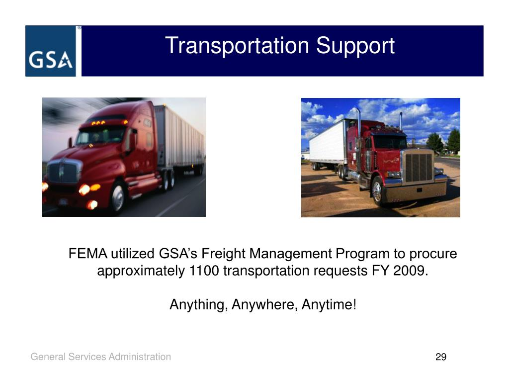Transportation Support