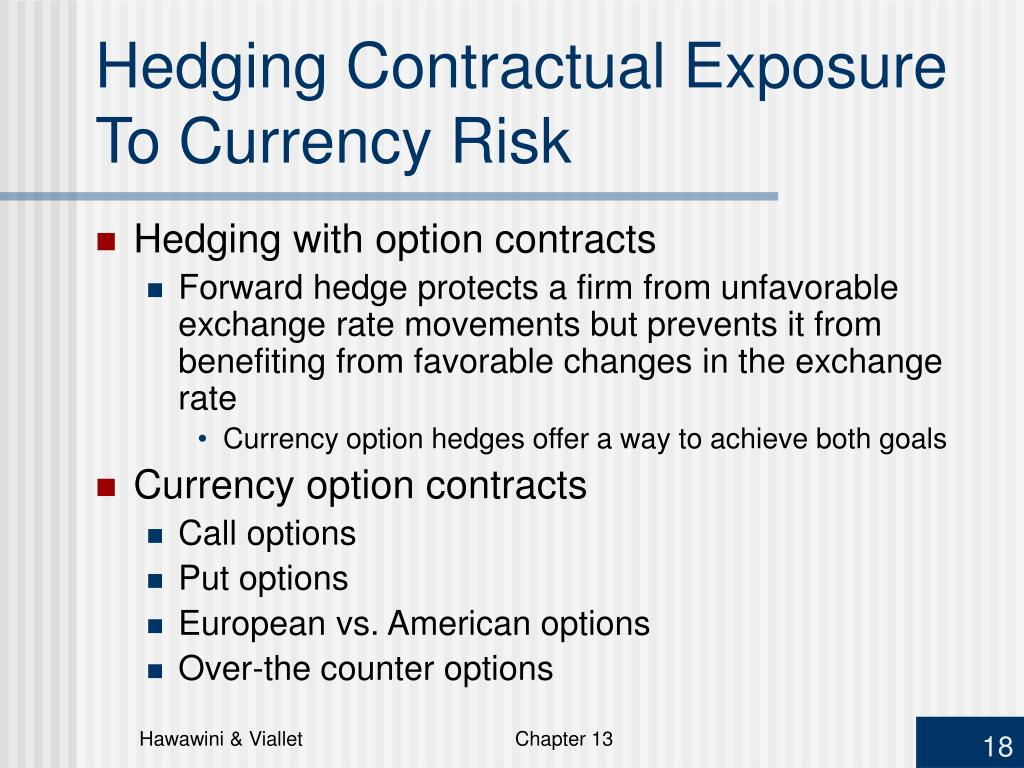 Hedging Contractual Exposure