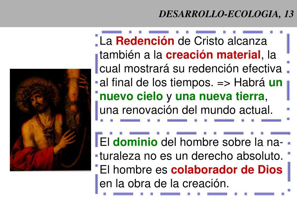 DESARROLLO-ECOLOGIA, 13