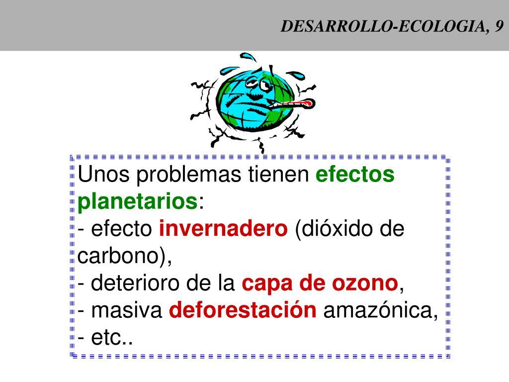 DESARROLLO-ECOLOGIA, 9