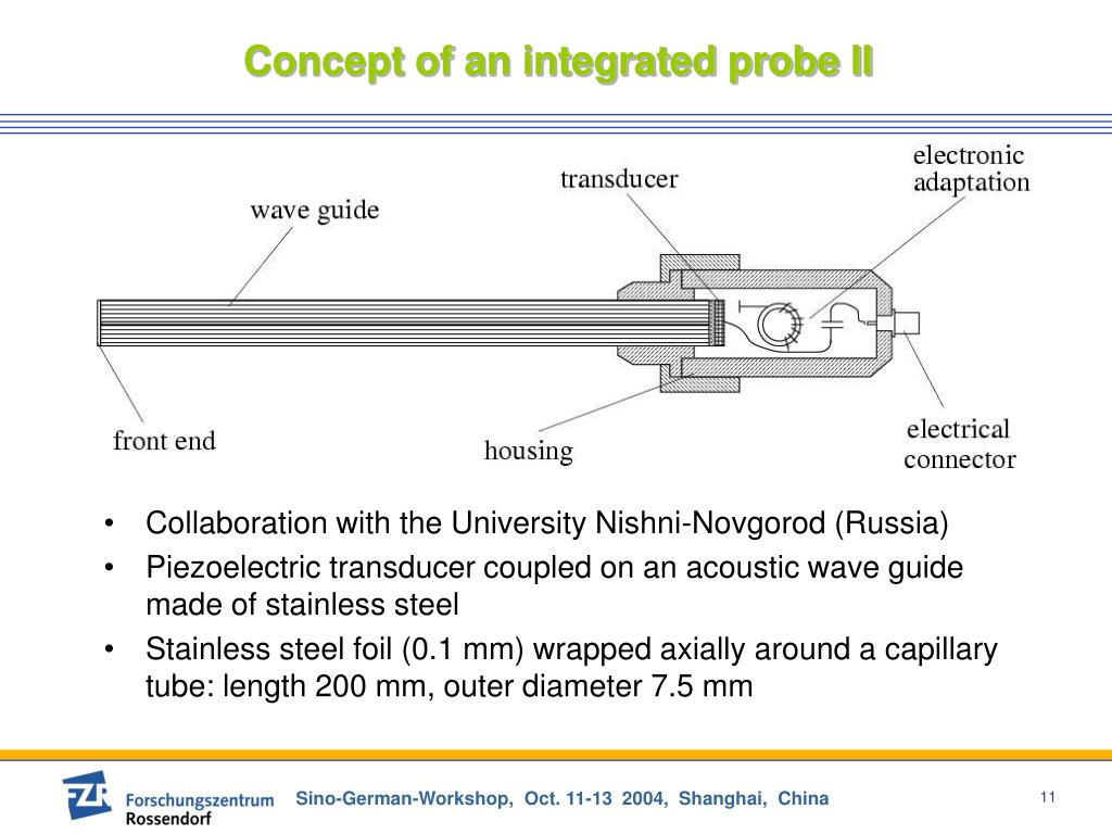 Concept of an integrated probe II