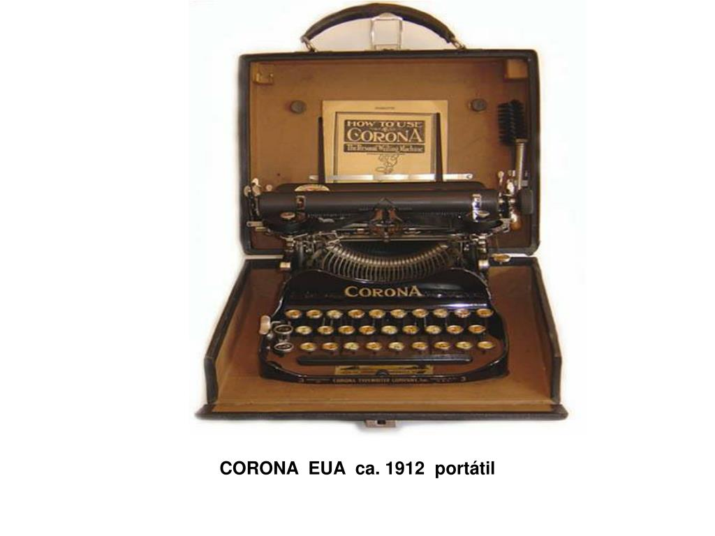 CORONA EUA ca. 1912 portátil
