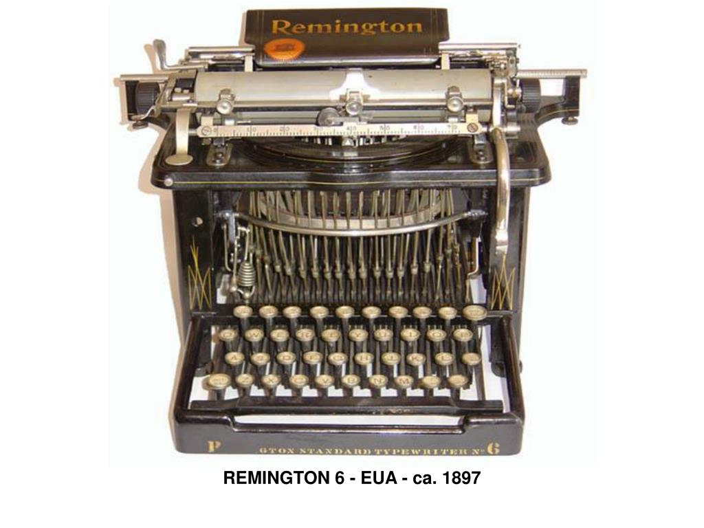 REMINGTON 6 - EUA - ca. 1897