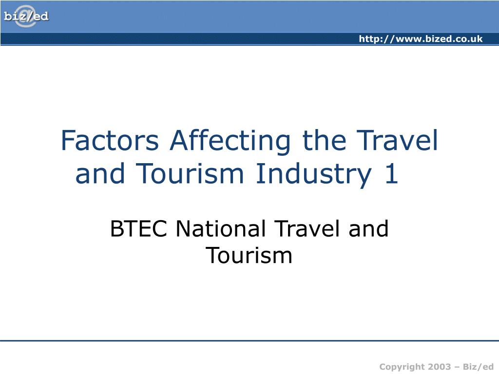 factors affecting the pakistan tourism industry Challenges of growth and globalization in the middle east and north africa [factors affecting the region's performance] pakistan, and the.