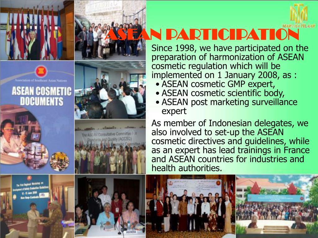 ASEAN PARTICIPATION