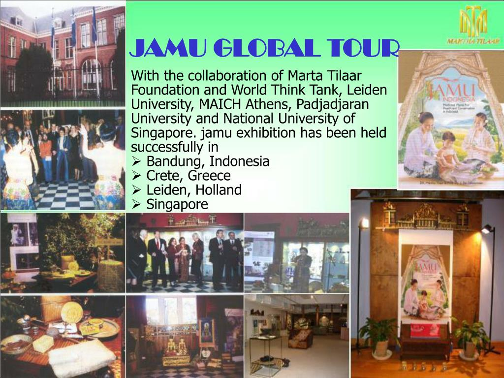 JAMU GLOBAL TOUR