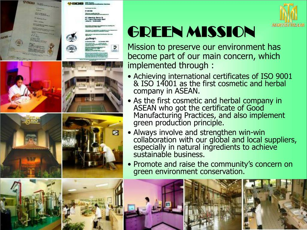 GREEN MISSION