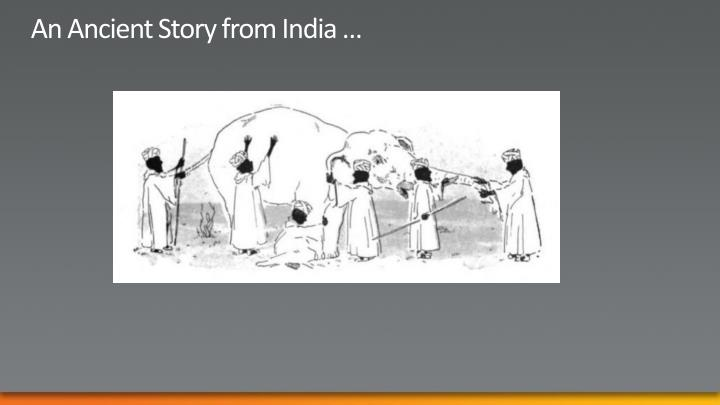 An ancient story from india