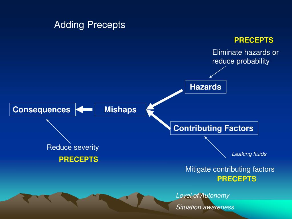 Adding Precepts