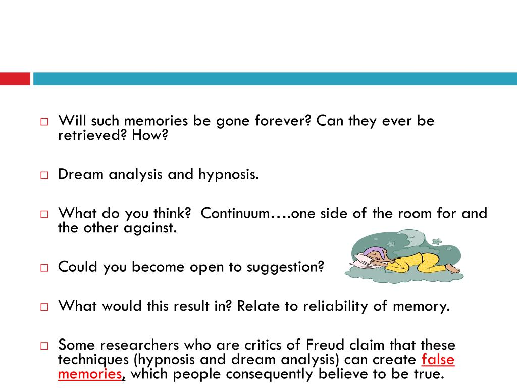 freudian dream analysis Psychoanalytic criticism the dream-thoughts which we first come across as we proceed with our analysis often strike us by the unusual form in which they.