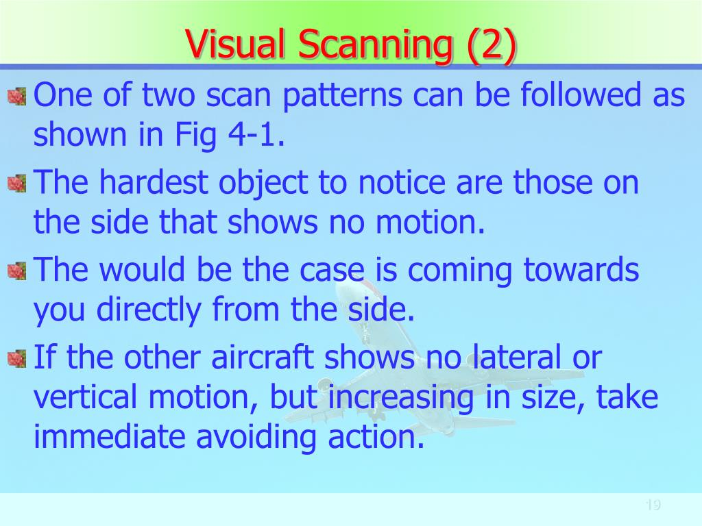 Visual Scanning (2)
