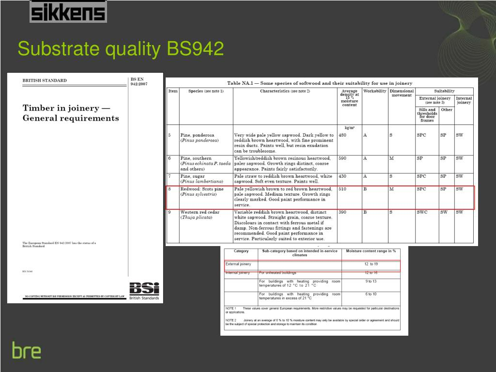 Substrate quality BS942