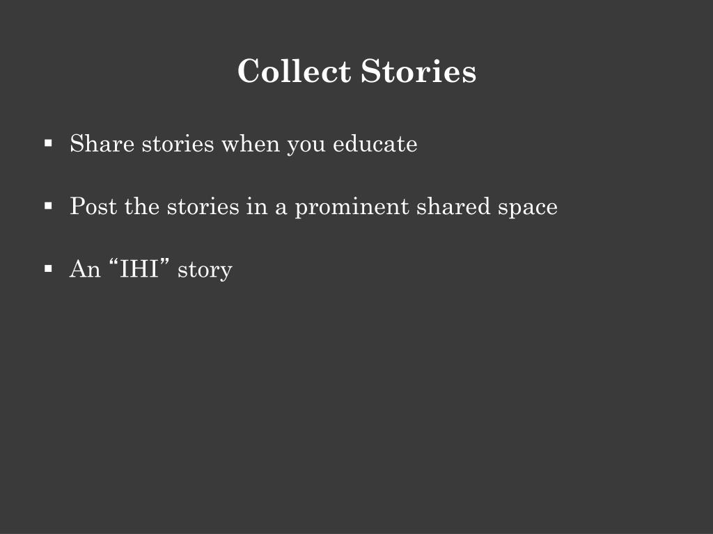 Collect Stories