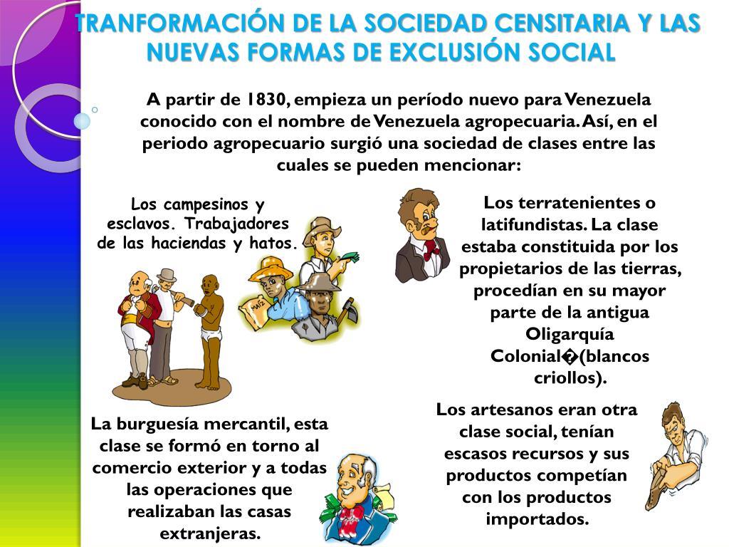 TRANFORMACIÓN DE LA SOCIEDAD