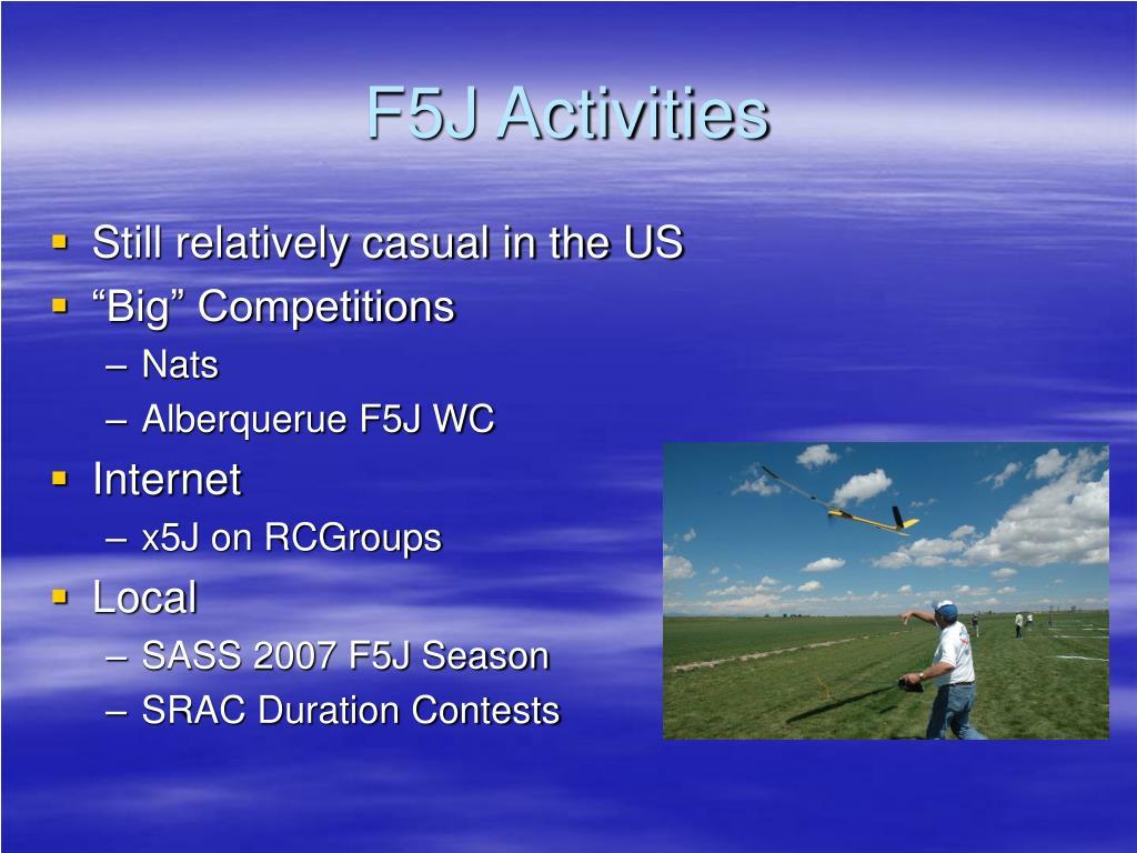 F5J Activities