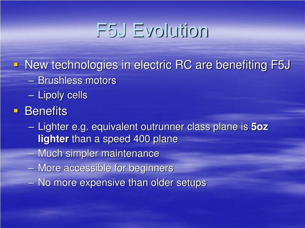 F5J Evolution