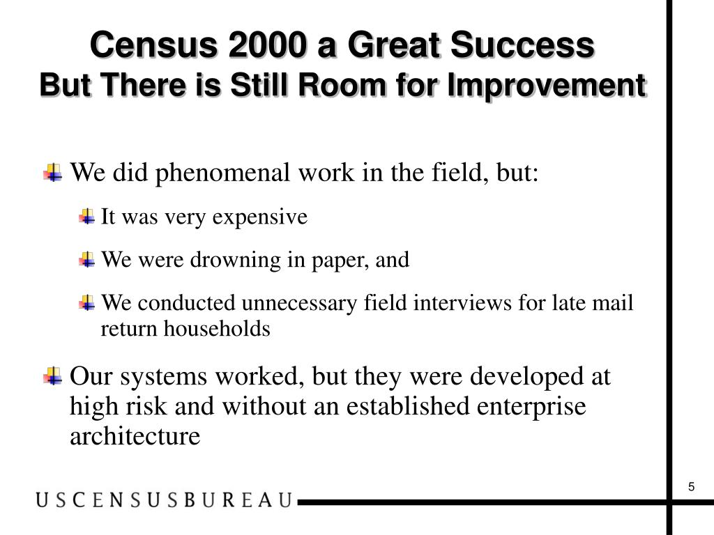 Census 2000 a Great Success