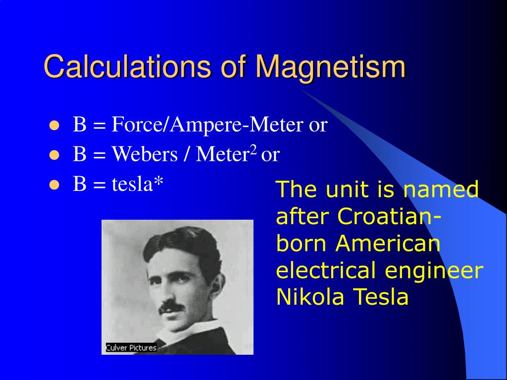 Calculations of Magnetism