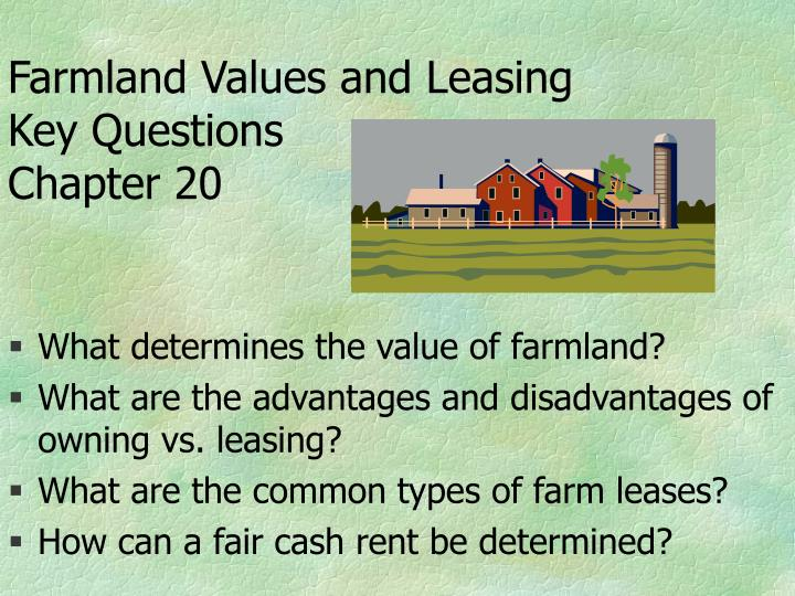 Farmland values and leasing key questions chapter 20 l.jpg