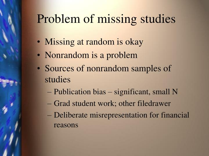 Problem of missing studies l.jpg