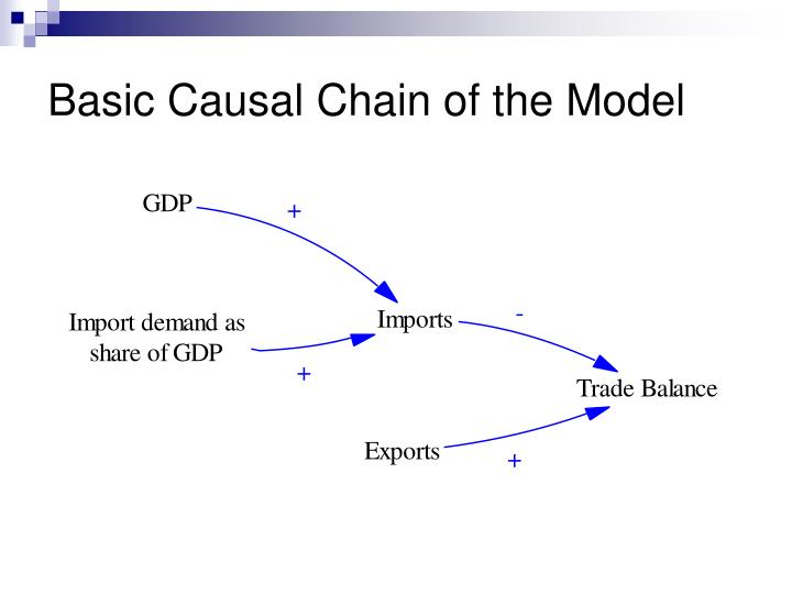Basic Causal Chain of the Model