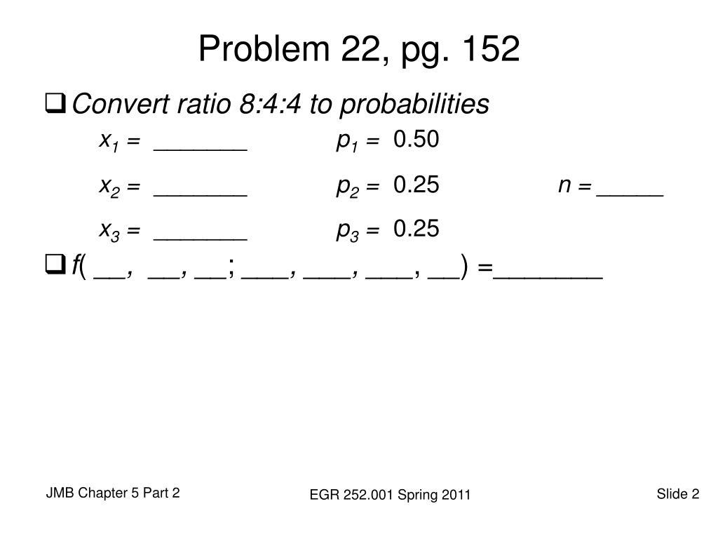 Problem 22, pg. 152