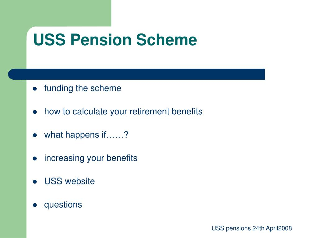 USS Pension Scheme