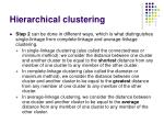 hierarchical clustering15