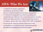 aws who we are6