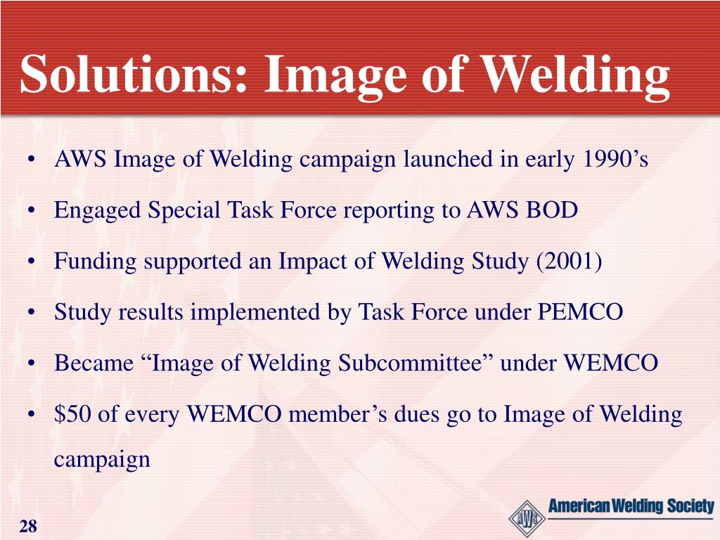 Solutions: Image of Welding