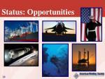 status opportunities