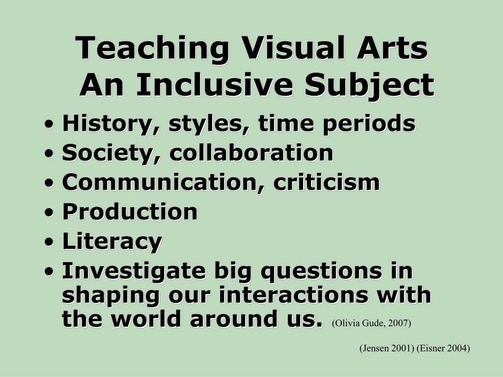 Teaching Visual Arts